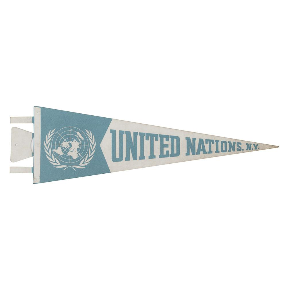 United Nations Pennant