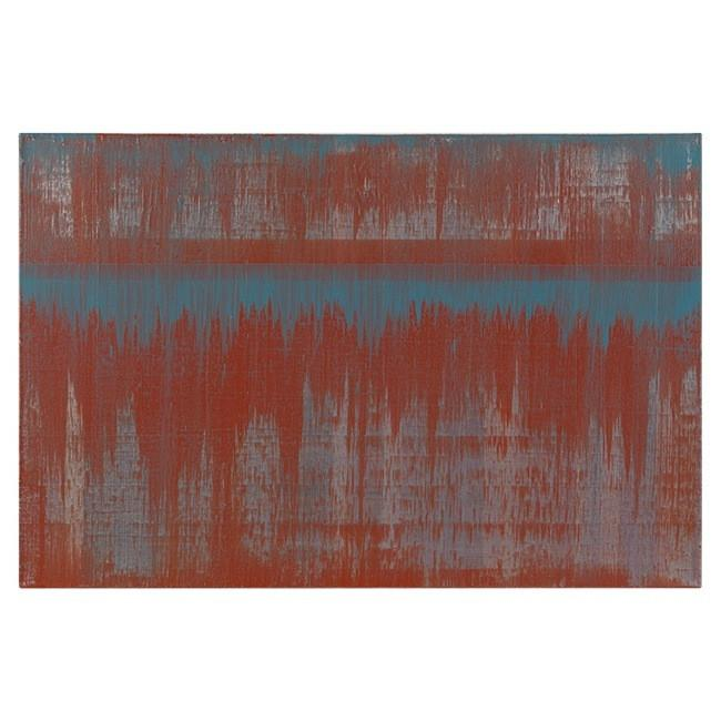 "100-428 Blue Orange Wash (36"" x 24"")"