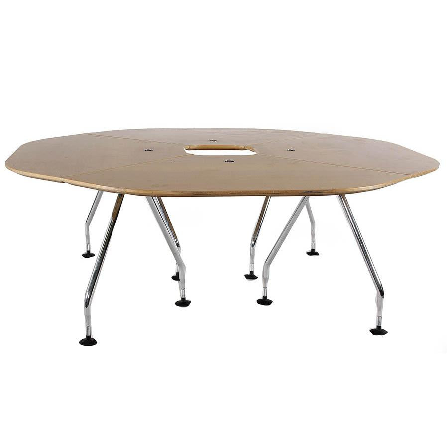 Octagonal 360 Conference Table Modernica Props