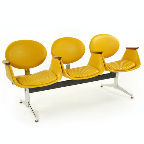 3 Seater - Mustard Yellow