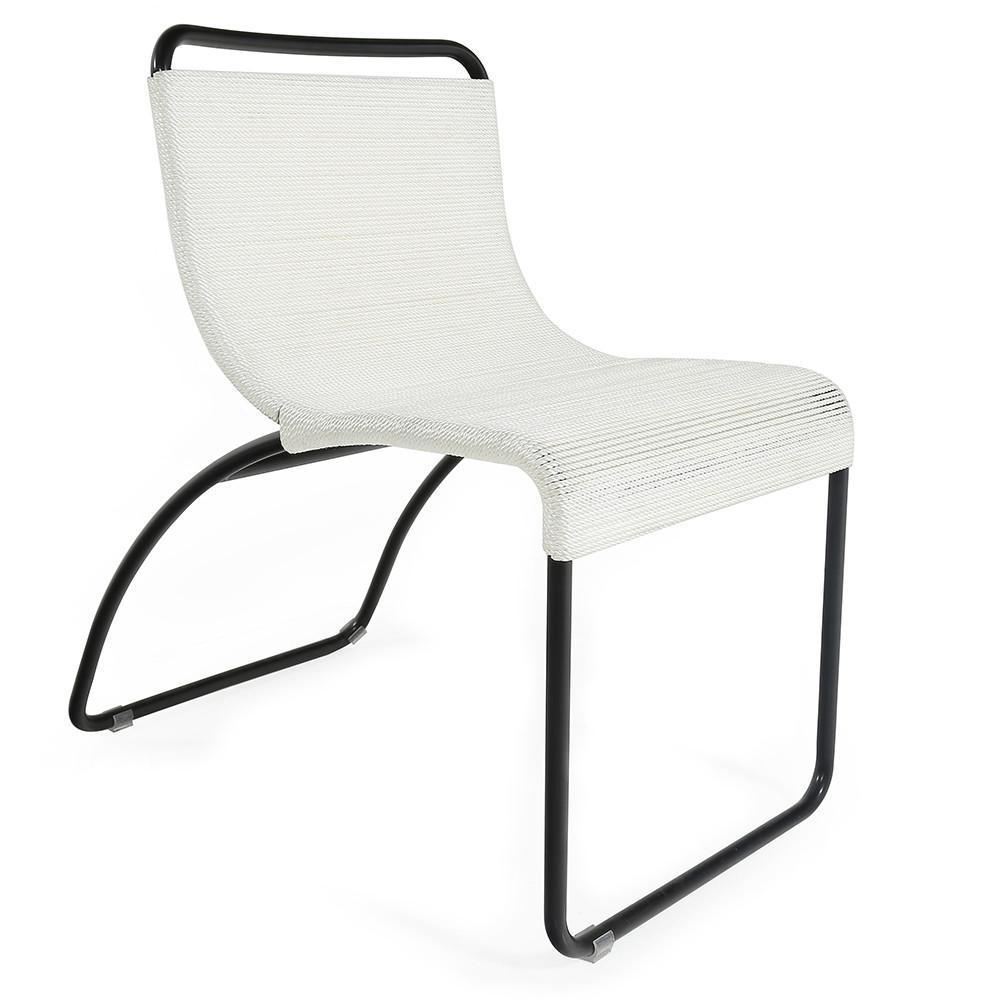 Case Study #22 Side Chair with Black Frame
