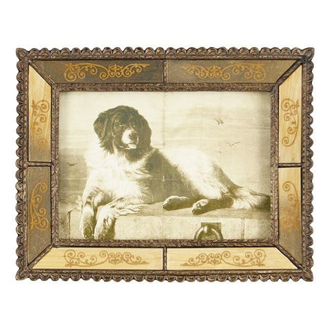 "BFA 100-187 Dog Mirror Frame (9.5"" x 7.5"")"
