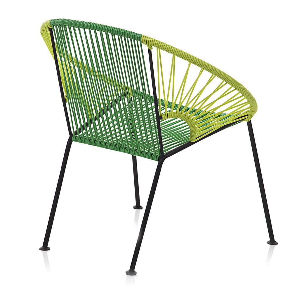 Cord Hoop Chair - Green