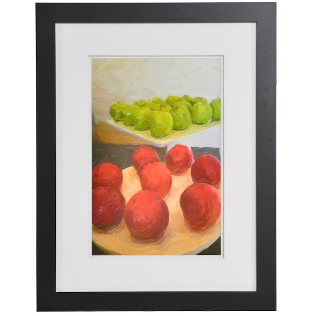 "100-750 Green Apple Tangerine (21"" x 27"")"