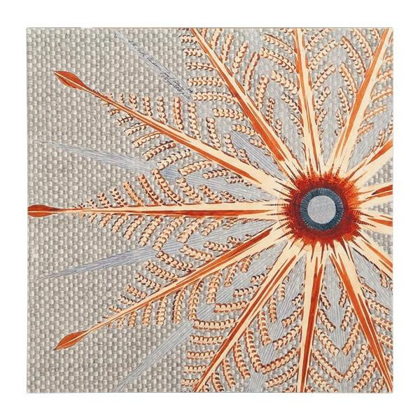 "100-292 Starflower Burlap (12"" x 12"")"