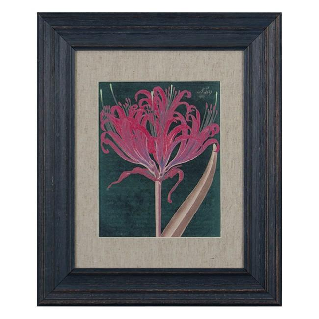 "100-220 Botanical Red (15.5"" x 18.5"")"