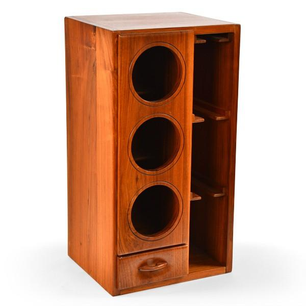 Wood Wine Storage Box