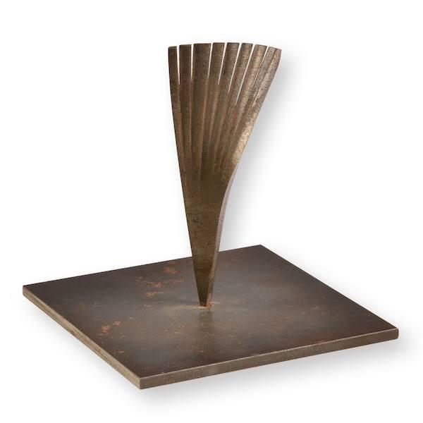 Metal Feather Paper Weight