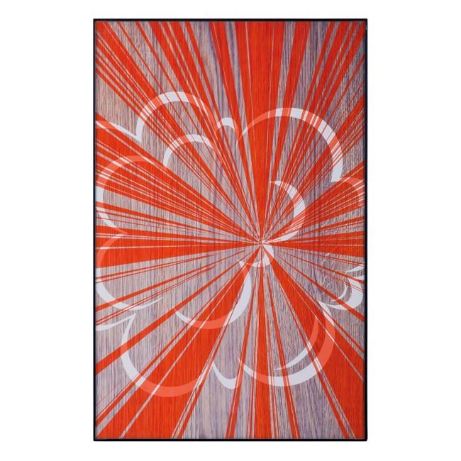 "100-601 Orange Starburst Cloud (11"" x 17"")"