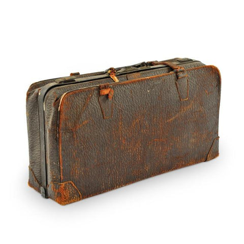 Black Distressed Suitcase