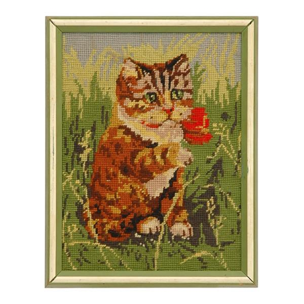 Cat Tapestry Framed Art