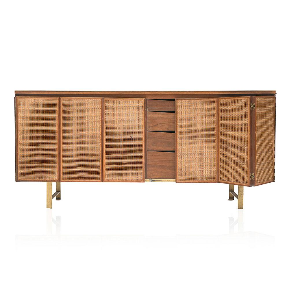 Cane and Wood Paul McCobb Credenza