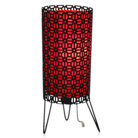 Black and Red Lamp