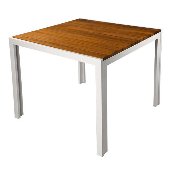 Modernica White Teak Dinette Table