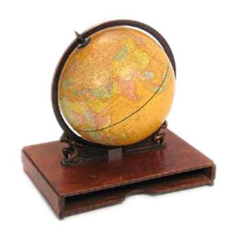 Beige Two Man Globe