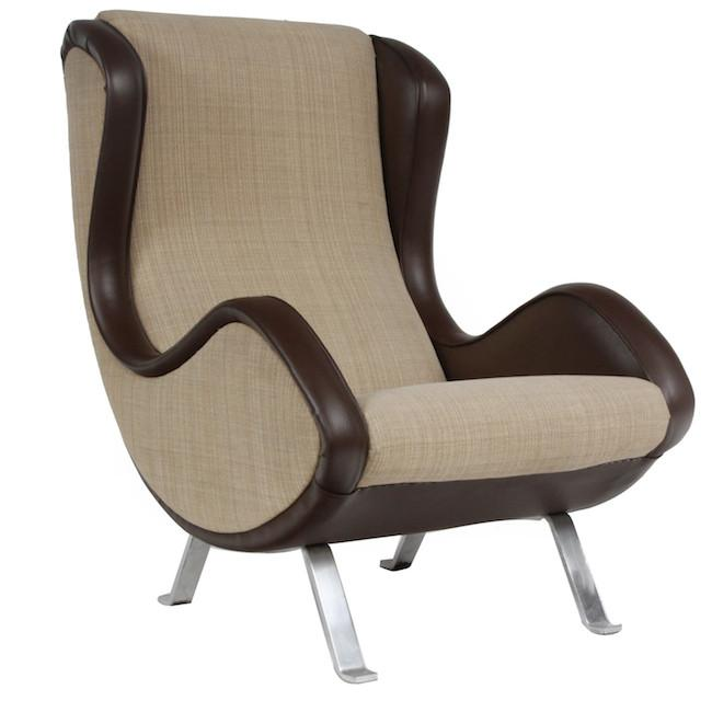 Two Tone Italian Lounge Chair