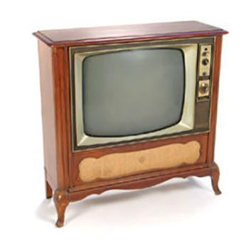 Sears Wood Television Console