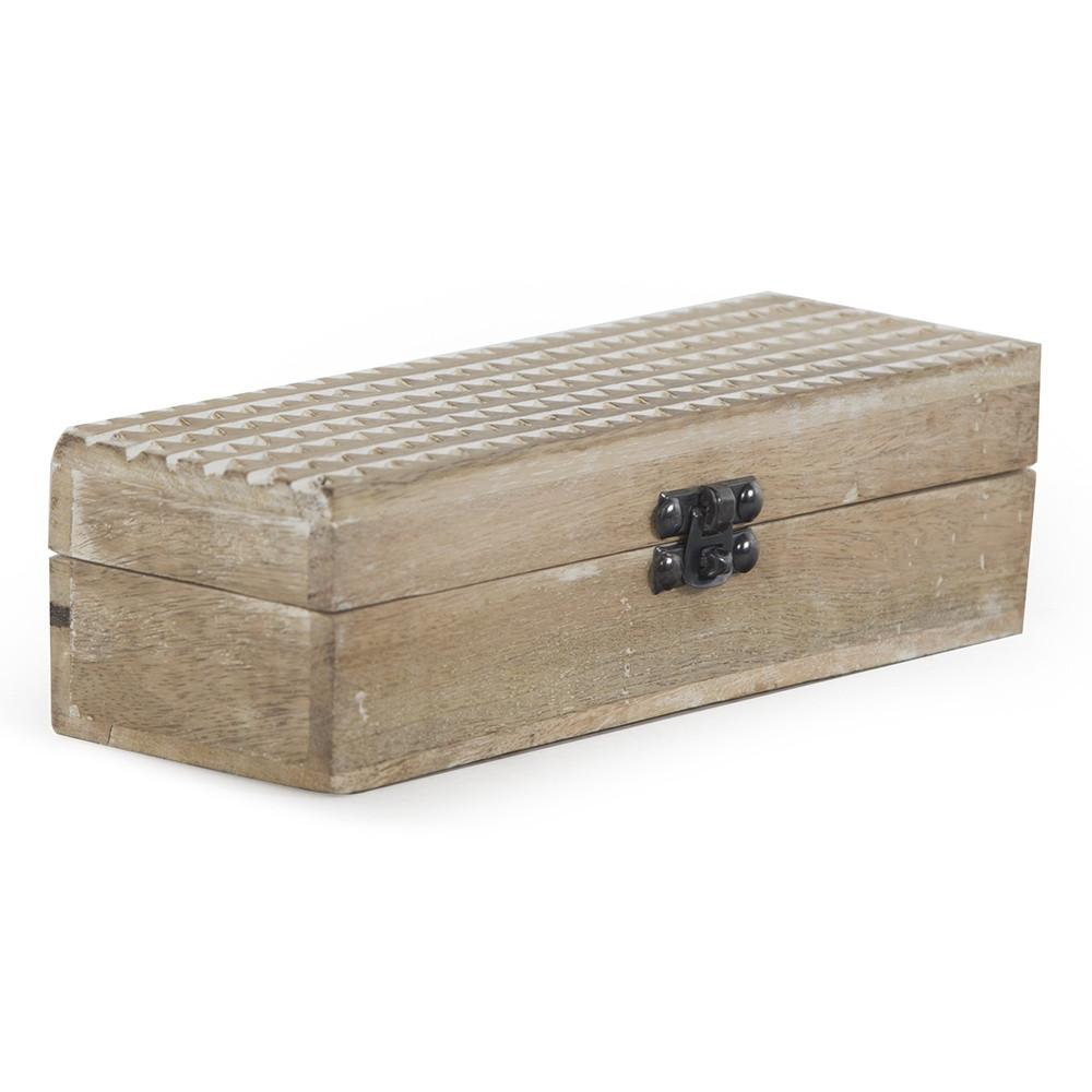 Wood Light BFA Rustic Box
