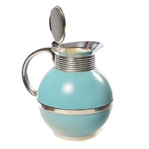 Aqua Retro Coffee Pitcher