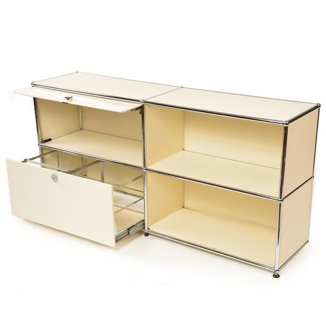Haller 220 Shelf Unit - Cream