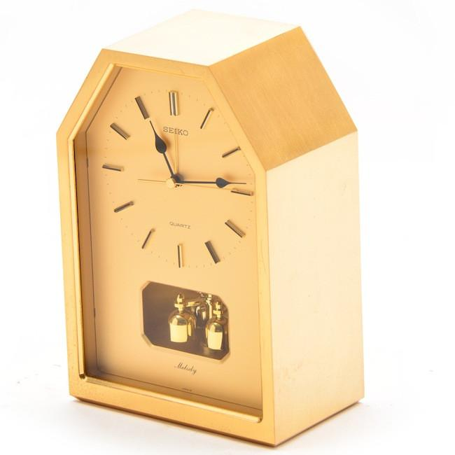 Seiko - Gold Melody Table Clock