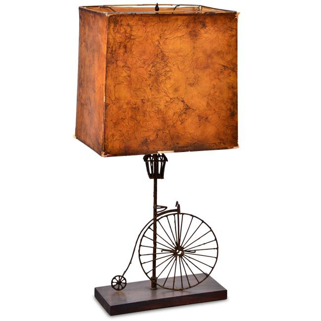 High Wheel Bicycle Table Lamp