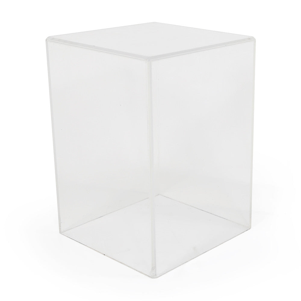 Lucite Pedestal / Side Table