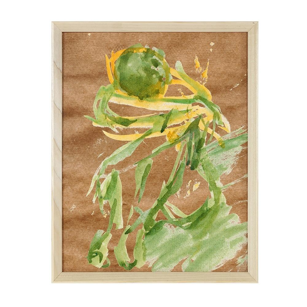 "100-819 Ballerina Green Yellow (12"" x 15"")"