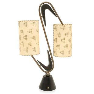 2 Shade Table Lamp