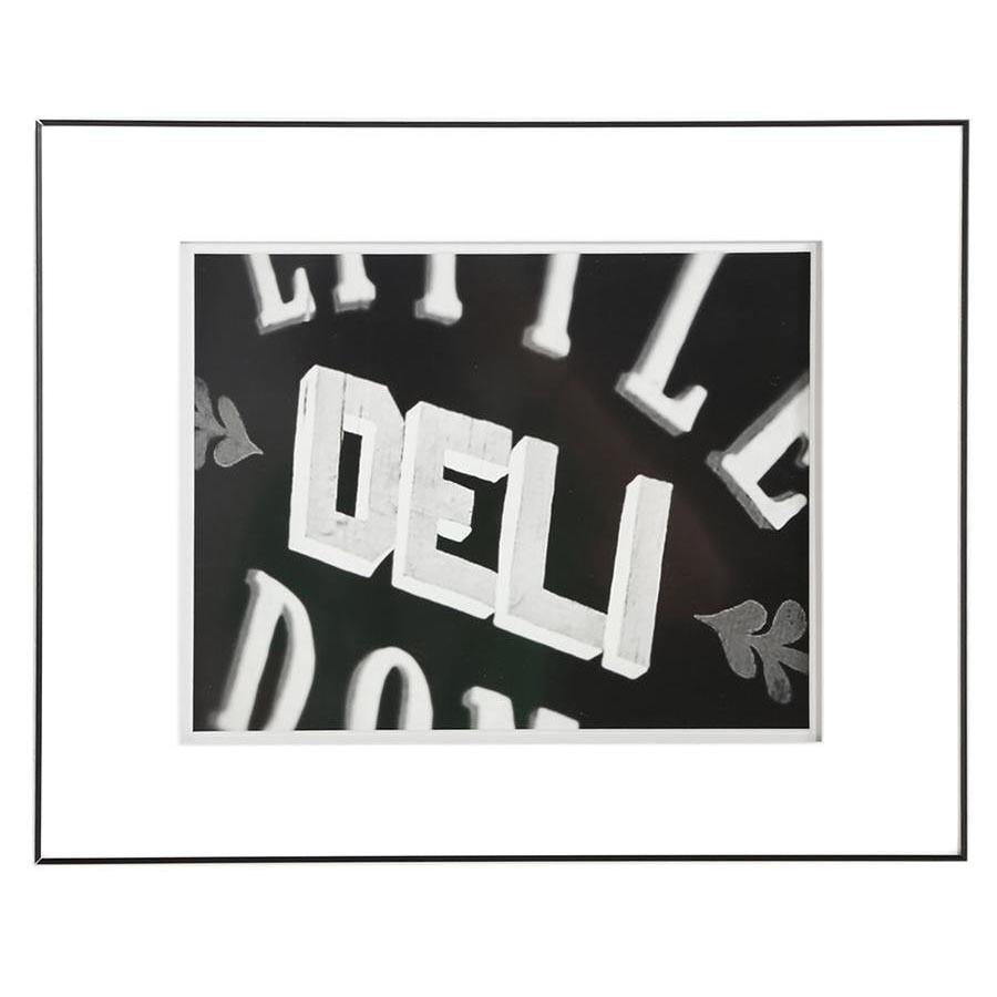"100-849 BW Deli Sign (20"" W x 16"" H)"