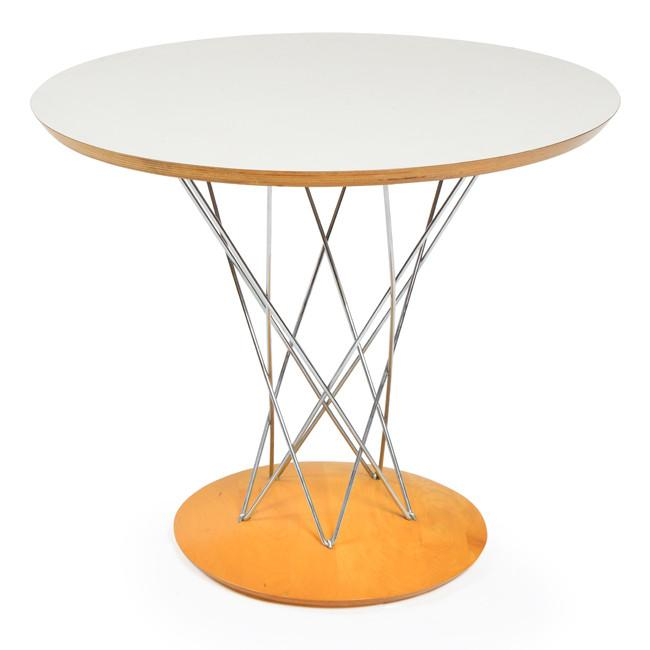 Cyclone Side Table - White