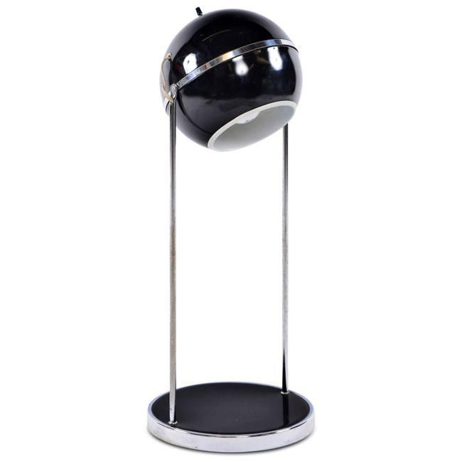 Black Orb Desk Lamp