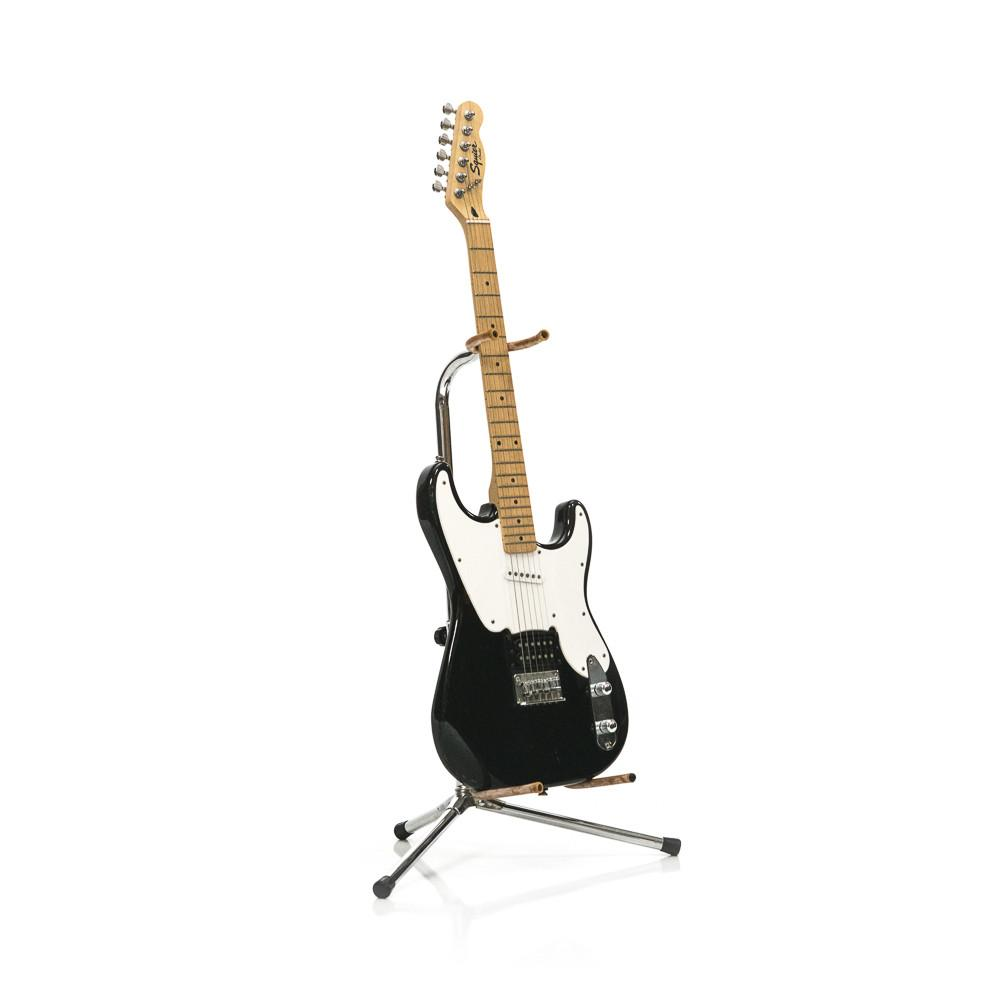 Black and White Squier Guitar