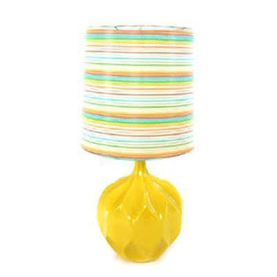 Yellow Table Lamp