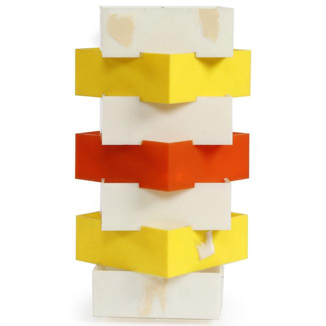 Stacked Squares Table Lamp
