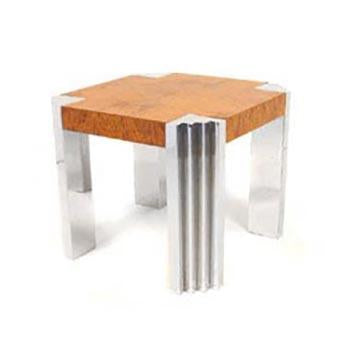 Stepped Leg Side Table