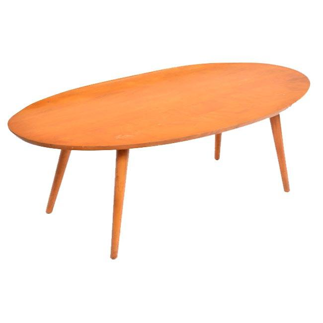 Oval Lipped Coffee Table