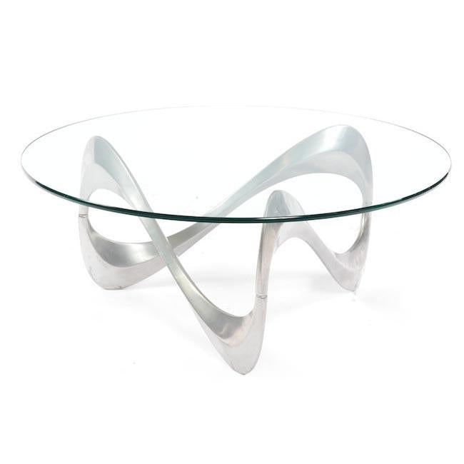 Ribbon Metal Coffee Table
