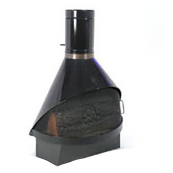 Swedish Fireplace - Black