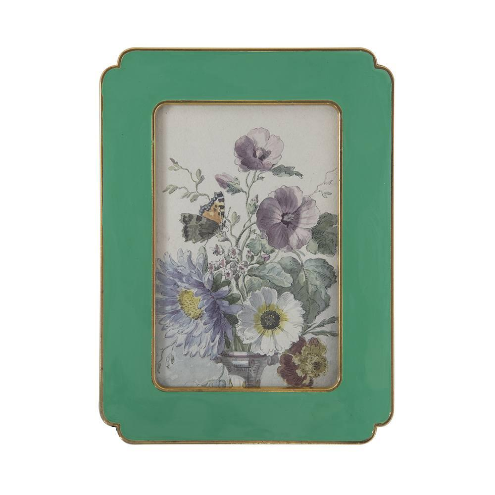 "BFA  100-903 Floral Green Medium (6"" x 7.5"")"