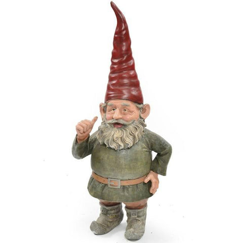 Lawn Gnome - Red Hat & Green Shirt