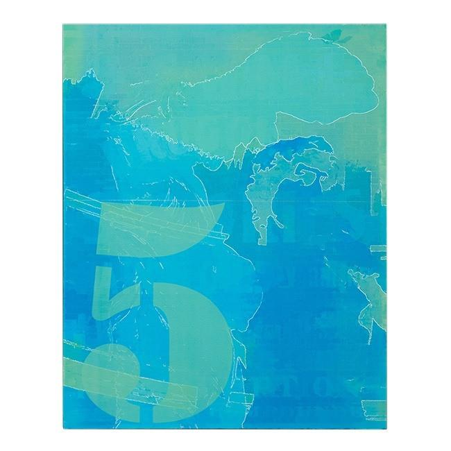 "BFA 100-319 Blue Five (16"" x 20"")"