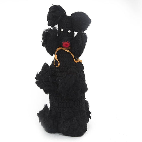Black Poodle Bottle Cover