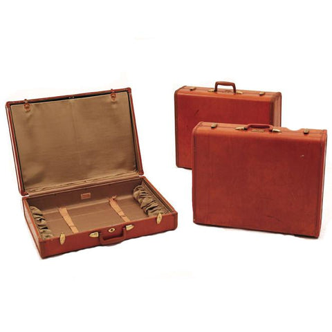 Cordovan Leather Luggage Set