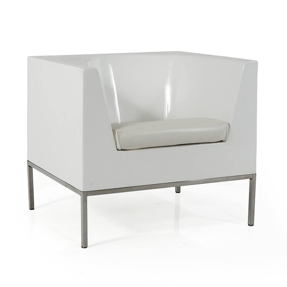 White Cube Chair
