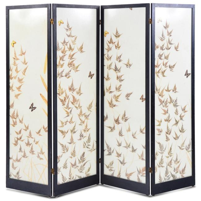 Leaves and Butterflies Screen