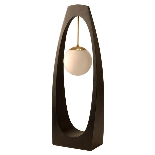 Black Modeline Oval Cut Out Light