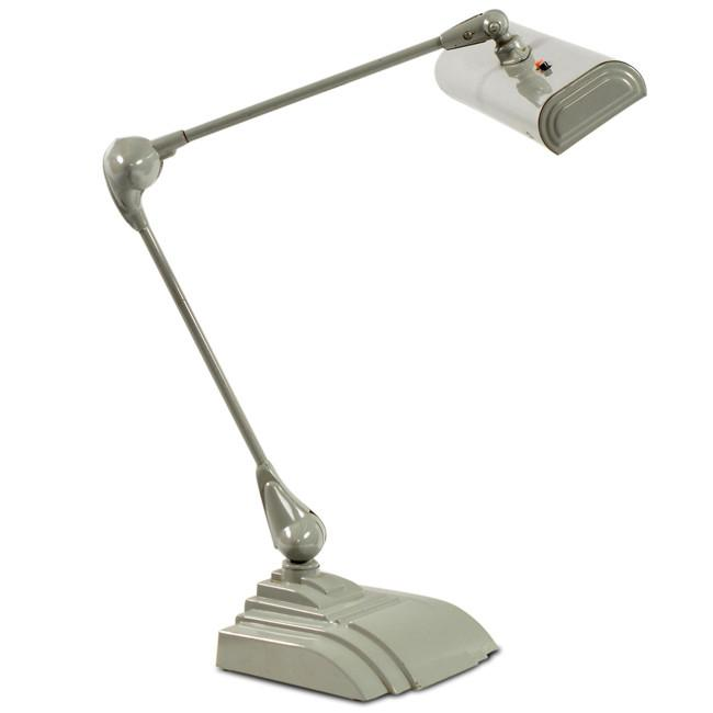 Grey Metal Desk Lamp