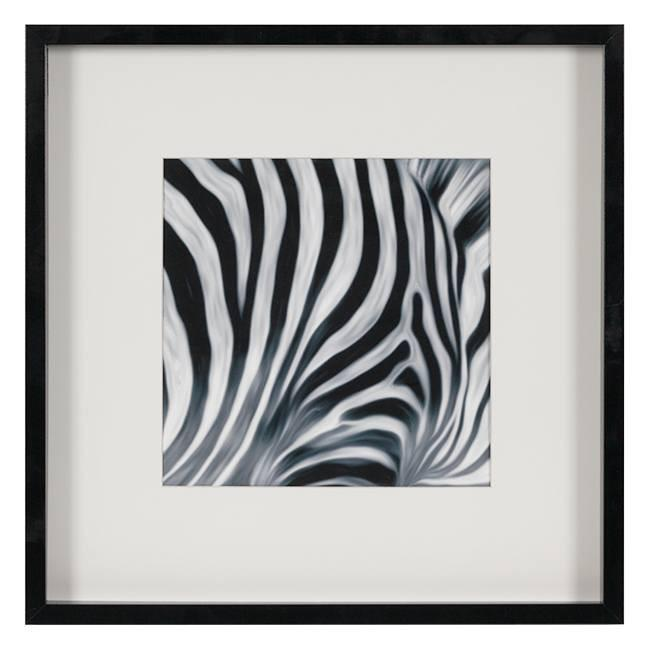"100-410 Zebra Stripes B (20.5"" x 20.5"")"