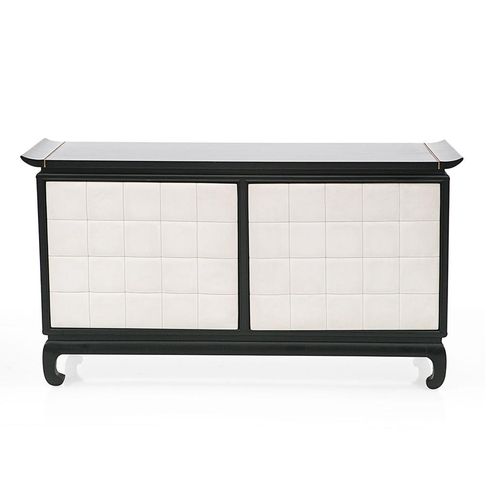 Black Asian Inspired Credenza